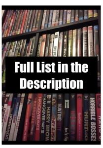 DVD & Blu-Ray Movies, TV Series, StandUp - Full List in Description