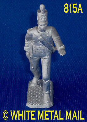 Military Lead Casting 815A 1:32 Scale British 27th Regiment Officer with Sword