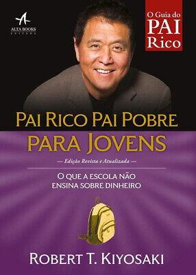 LIVRO PAI RICO PAI POBRE PARA JOVENS (Rich Dad Poor Dad For Teens) PORTUGUESE comprar usado  Brazil
