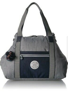 NEW Kipling Art M Weave Combo Travel weekend luggage tote bag 26L  Rrp£102
