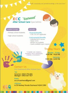 Early Childhood Community EASTWOOD West Ryde Ryde Area Preview