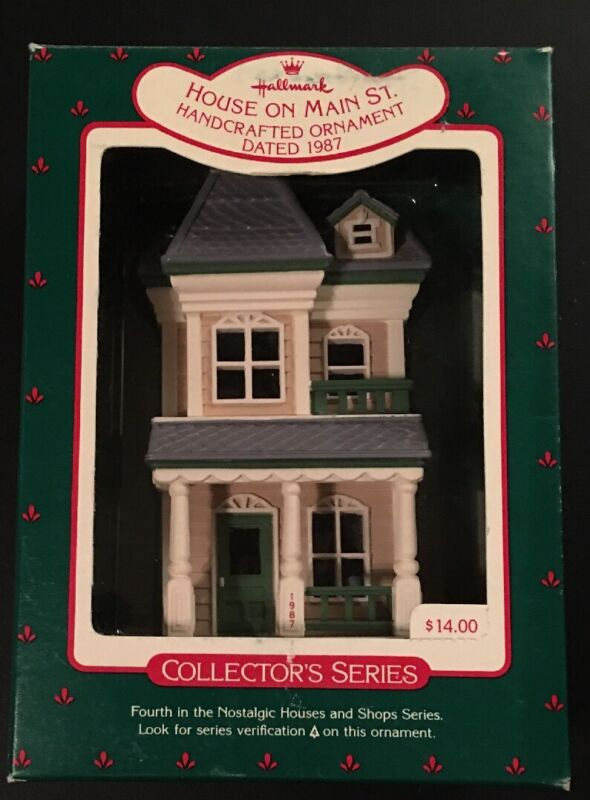 Hallmark: HOUSE ON MAIN ST - #4 in the Nostalgic Houses and Shops - 1987