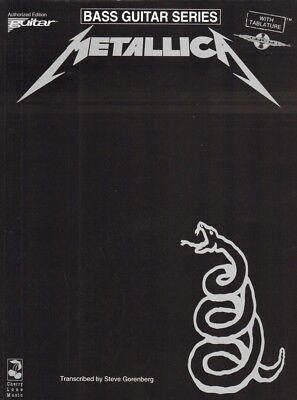 Metallica Black Album Bass Noten Tab