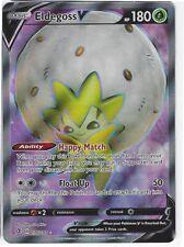 Eldegoss V 019//192 ULTRA RARE SWSH02 Rebel Clash NM Pokemon Card