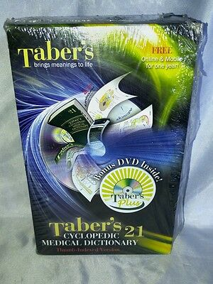 Taber's Cyclopedic Medical Dictionary, 21st Edition by