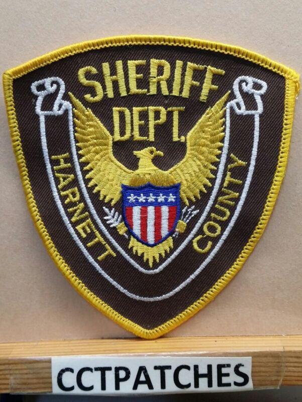 HARNETT COUNTY, NORTH CAROLINA SHERIFF (POLICE) SHOULDER PATCH NC