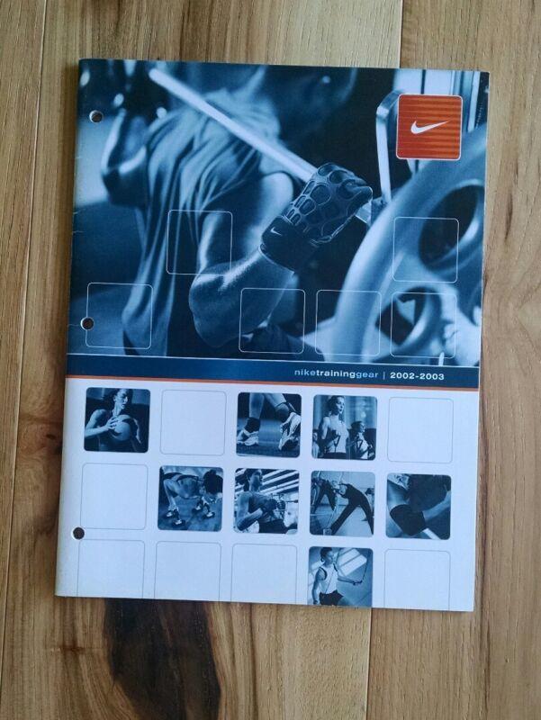 Vintage NIKE Training Gear Retail Dealer Catalog Fall 2002-2003
