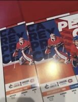 2 tickets Montreal Canadiens