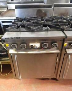 Supertron 4BT-OV-600 Gas Oven Range - Secondhand Catering Campbellfield Hume Area Preview