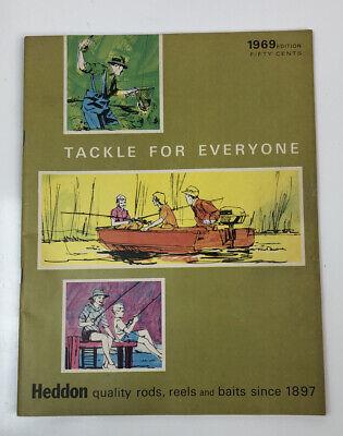 Heddon 1969 Catalog Old Fishing Lures, Reels ,Rods