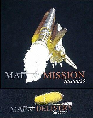 Lockheed Martin Michoud Assembly Facility Employee T Shirt Nasa Shuttle L Black