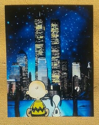 Peanuts Snoopy Charlie Brown New York  Magnet RARE #1
