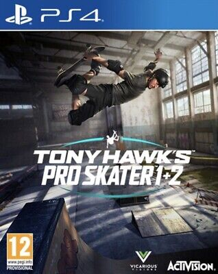 Tony Hawks Pro Skater 1 & 2 REMASTERED PS4 PREORDER SEPTEMBER RELEASE!