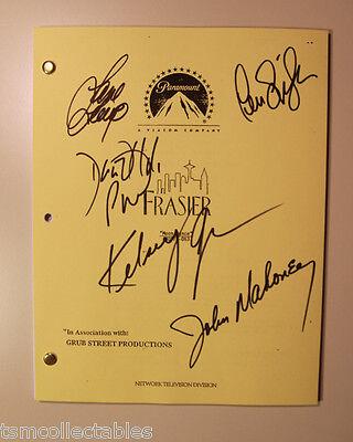 FRASIER full cast autographed SCRIPT Kelsey Grammer David HYDE PIERCE GILPIN