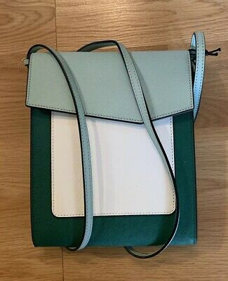 BOTKIER COBBLE HILL TALL CROSSBODY IVY COLORBLOCK MSRP $148