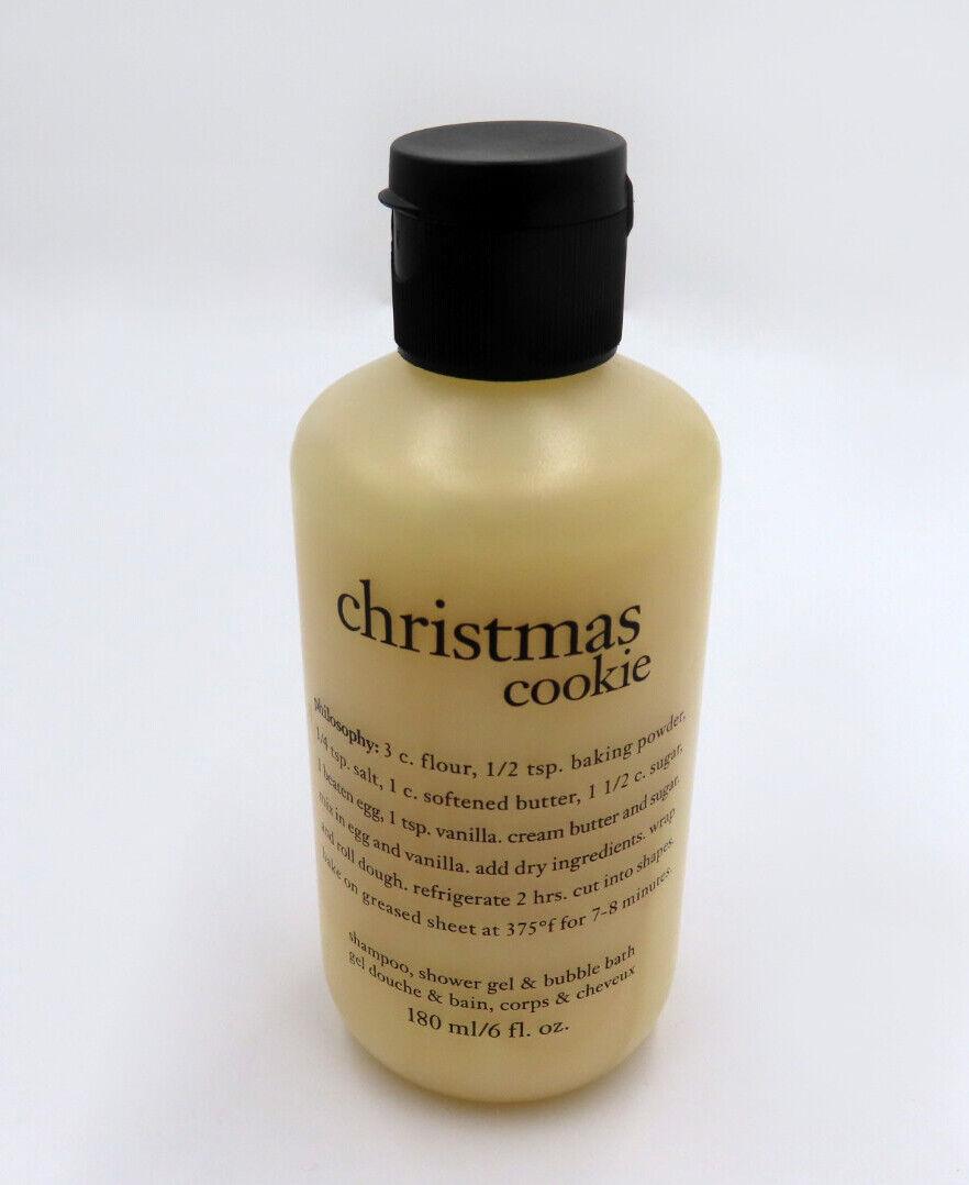 Philosophy Christmas Cookie Shampoo Shower Gel Bubble Bath B