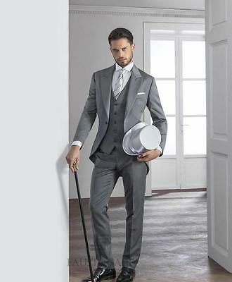 slim mari smokings habit queue de pie le meilleur homme costumes mariage garon d - Costume Queue De Pie Homme Mariage