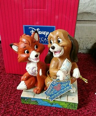 DISNEY FOX AND THE HOUND TRADITIONS UNEXPECTED FRIENDSHIPS