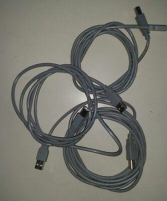 3 USB Kabel je 1,5 m