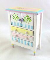 Miniatura Per Casa Delle Bambole 1:12 Mobili In Scala Pastello - mobil - ebay.it