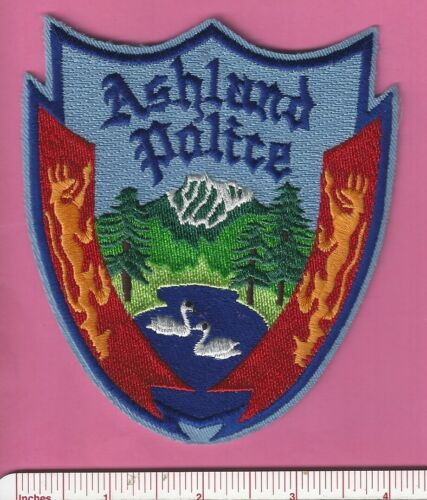 Ashland OR State Oregon Law Enforcement Police Shoulder Patch - Jackson County