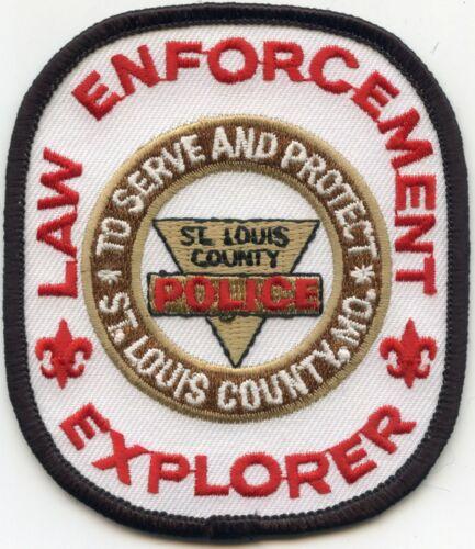 SAINT ST LOUIS COUNTY MISSOURI MO EXPLORER POLICE PATCH