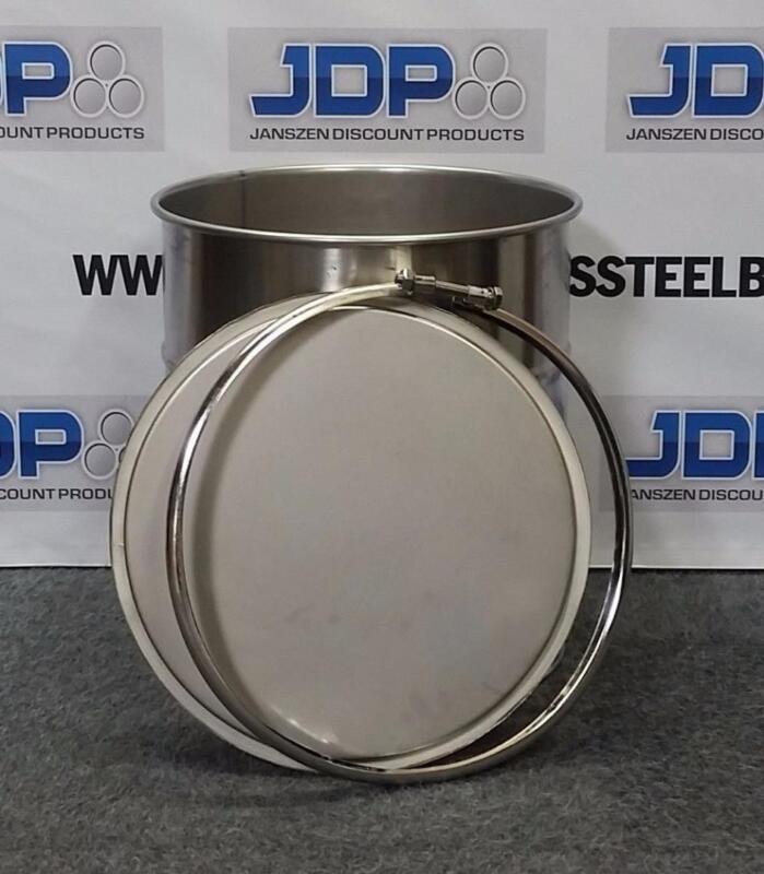 20 Gallon Stainless Steel Barrel Drum Open Top NEW