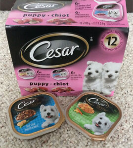 Pack of 12 Cesar Puppy wet food for sale