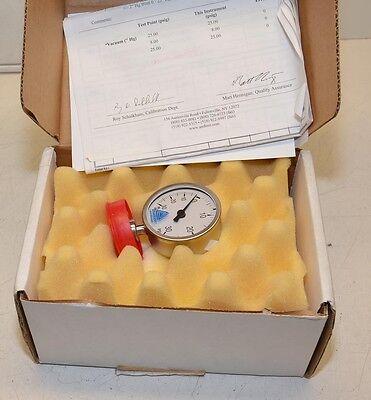 Anderson Pharmaceutical Series Gage Calibrated Ek02901100311 30 Hg030 Psig