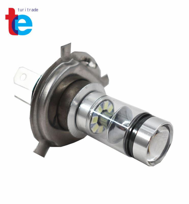 80W 8000K LED Headlight H4 Bulb Hi Low Lights For Kawasaki KFX700 2004-2009