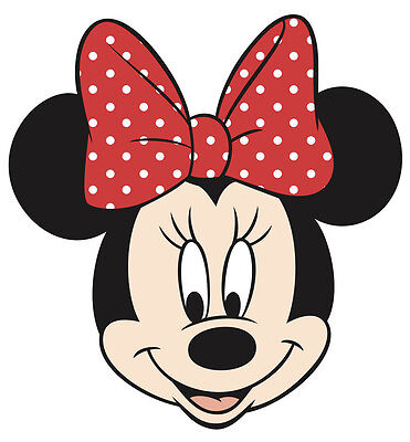 Minnie Mouse Face Stickers (5
