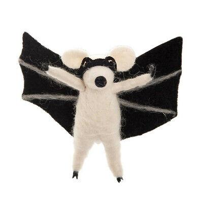 Gallerie Ii Halloween (GALLERIE II HANDMADE WOOL BAT RAT HALLOWEEN HOLIDAY)