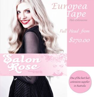 Full Head European tape hair extensions: Call and booking now! Caroline Springs Melton Area Preview