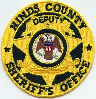 Used, HINDS COUNTY MISSISSIPPI MS round DEPUTY SHERIFF POLICE PATCH for sale  Atlanta