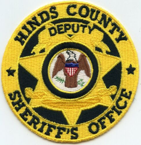 HINDS COUNTY MISSISSIPPI MS round DEPUTY SHERIFF POLICE PATCH