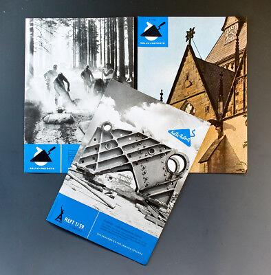 3 x Hefte KELLE + RETORTE um 1959 + 1961