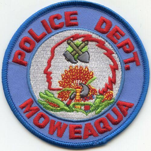 old vintage MOWEAQUA ILLINOIS IL POLICE PATCH