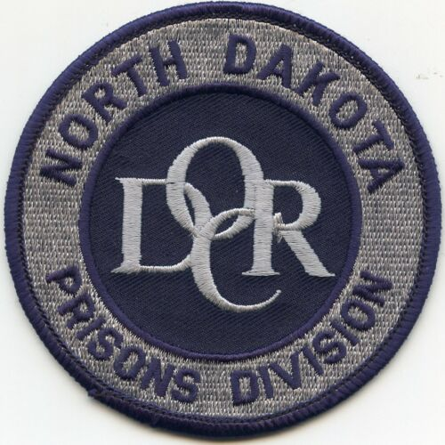 NORTH DAKOTA ND STATE PRISON small DEPARTMENT OF CORRECTIONS DOC police PATCH