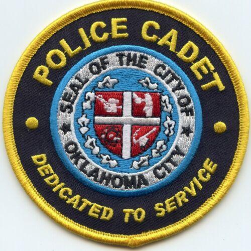 OKLAHOMA CITY OKLAHOMA OK Police Academy POLICE CADET POLICE PATCH