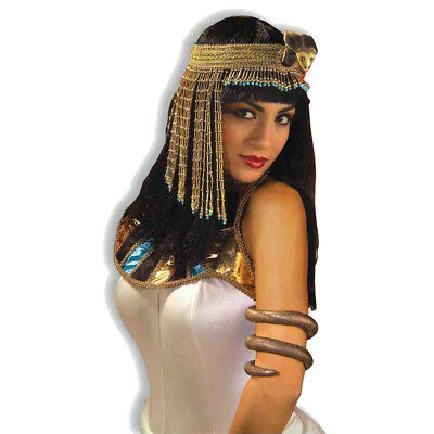 Asp Snake Beaded Headpiece Cleopatra Headband Egyptian  Queen Costume - Snake Headpiece