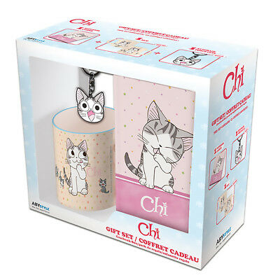 Lovers Set - CHI'S SWEET HOME - Chi Cat-Lover's Gift Set (Includes Mug, Journal, and Keychain