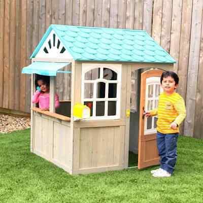 Casetta in legno per esterno giocattolo per bambini oceanfront garden playhouse