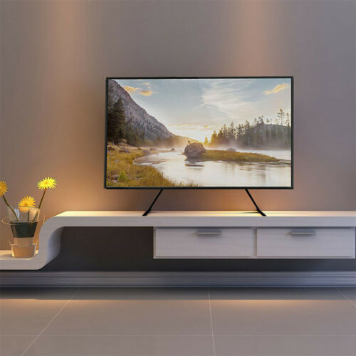 Premium Universal Table Top TV Stand for 27 55 LCD TVs 88lbs for Vizio LG RCA