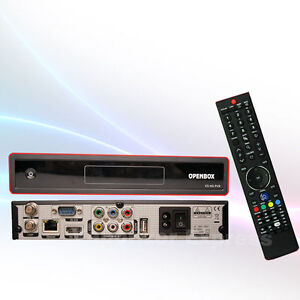 Newest Openbox x5 1080p Full HD PVR FTA Satellite Receiver + FREE USB WiFi