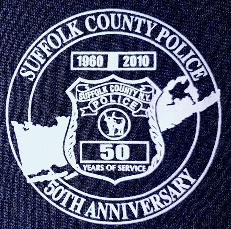 SCPD Suffolk County Long Island NY NCPD T-Shirt Sz XL NYPD