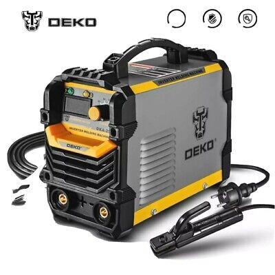 maquina soldadora inverter electrica soldar DEKO DKA-200Y 200A 4.1KVA Arco DIY