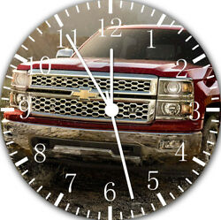 Chevy Pickup Truck Frameless Borderless Wall Clock Nice For Gifts or Decor F57