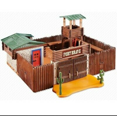 PLAYMOBIL FORT BRAVE REF. 6427 OESTE WESTERN