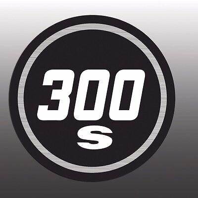MASSEY FERGUSON SKI-WHIZ EMBLEM DECAL 300S 300 S ROUND BADGE DECAL GRAPHIC