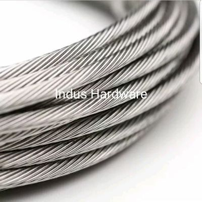 Stainless Steel T316l Cable Railing 316 1x19 7x19 Commercial Grade New Stock